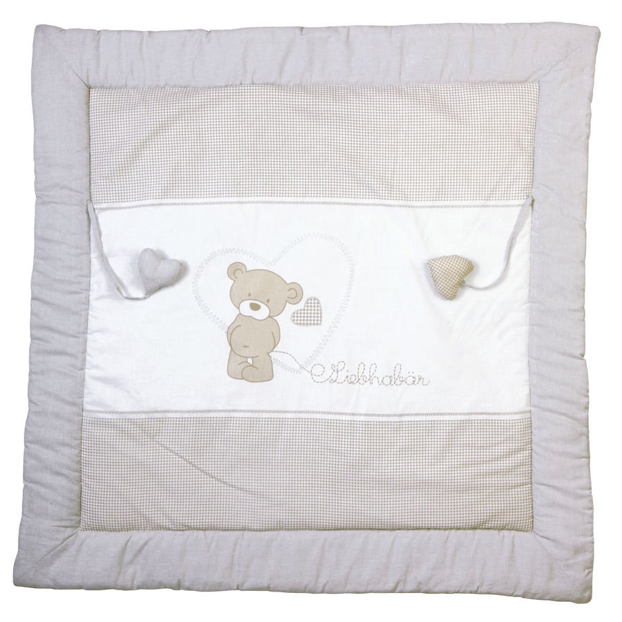 Roba Play and Crawl Blanket Cuddly Bear 100x100cm