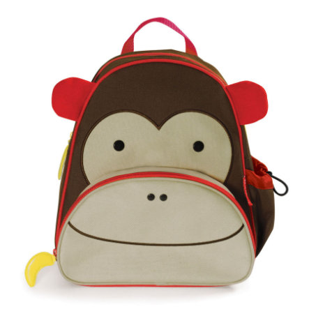 SKIP HOP Kinderrucksack Zoo Pack Monkey