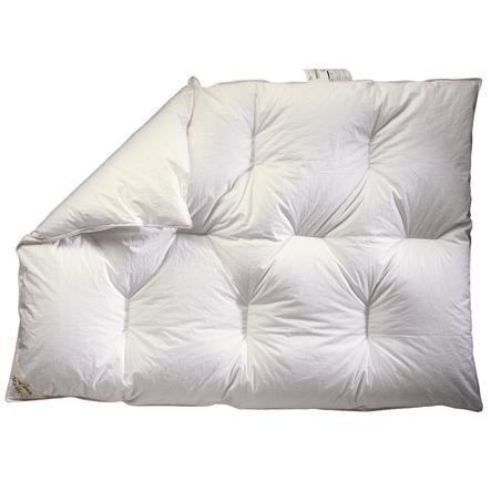 ARO® Daunenbettdecke Kinder Karo Luxus 100 x 135 cm
