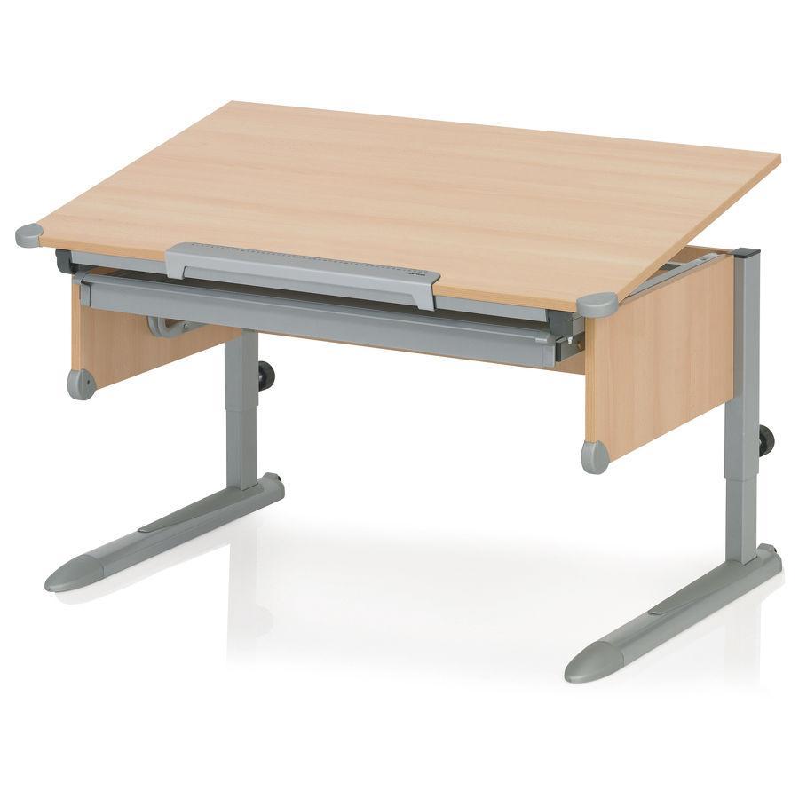 KETTLER Schreibtisch COLLEGE BOX II, Buche/Silber