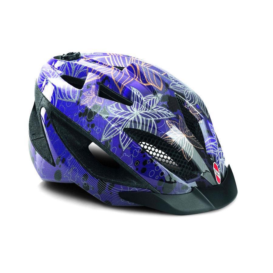 PUKY Casco PH1 per bicicletta lila Taglia: L 9592