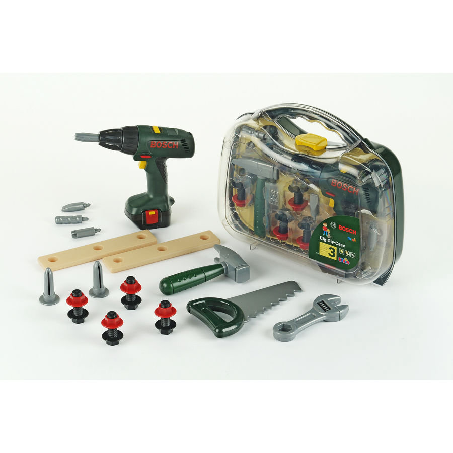 KLEIN BOSCH speelgoed accuschroevendraaierkoffer + accessoires