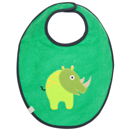 LÄSSIG Waterproof Bib medium, Wildlife Rhino