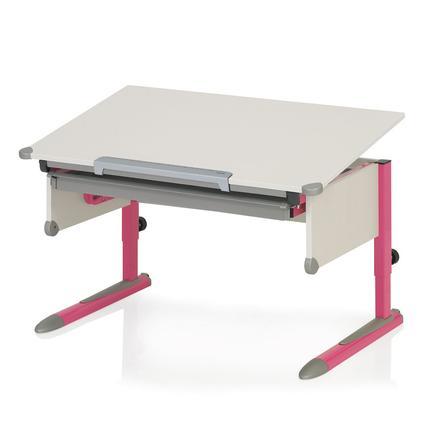KETTLER Schreibtisch COLLEGE BOX II, Pink/Weiss