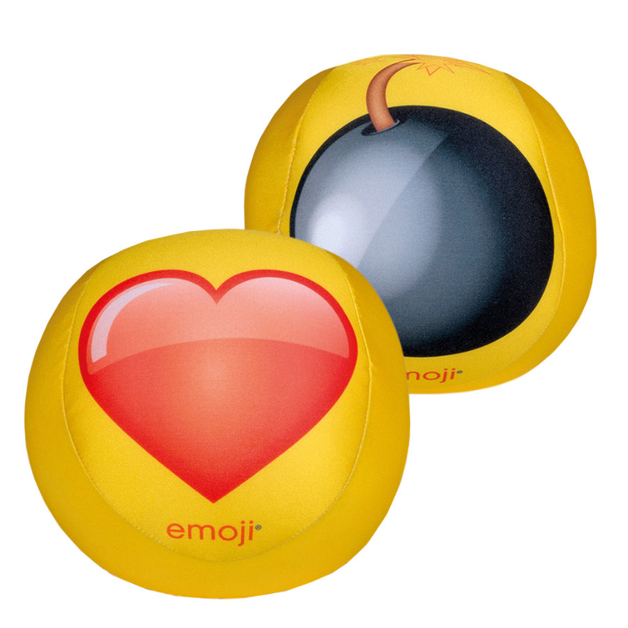 HAPPY PEOPLE Piłka emoji® 19 cm