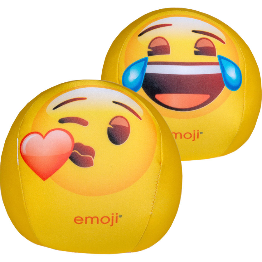 HAPPY PEOPLE emoji® Balle en caoutchouc 19 cm