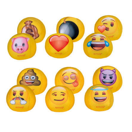HAPPY PEOPLE emoji® Měkký míč, 10 cm