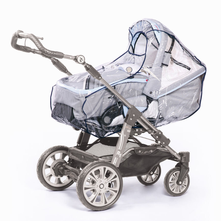 HARMATEX Kinderwagen Regenhaube PVC