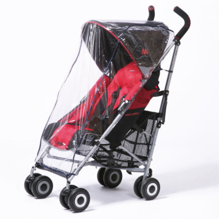 HARMATEX Rain Cover PVC for Buggies with Hood