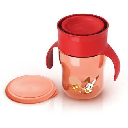 AVENT Tasse d'apprentissage 260ml rouge (SCF782/00)