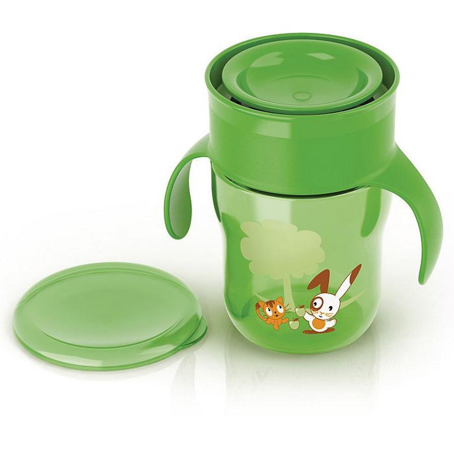 Philips AVENT Trinkbecher Allaround Cup 260 ml grün