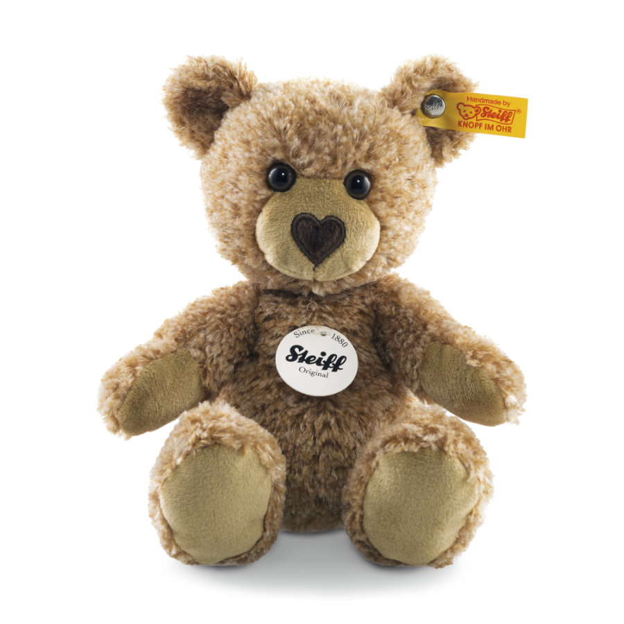 Steiff  Teddy ours Cosy, rouge blond 16 cm, assis