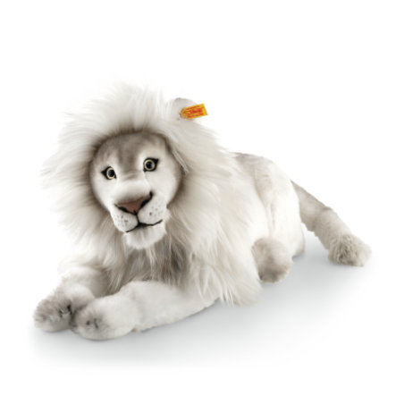 Steiff Timba løve hvit, 42 cm liggende