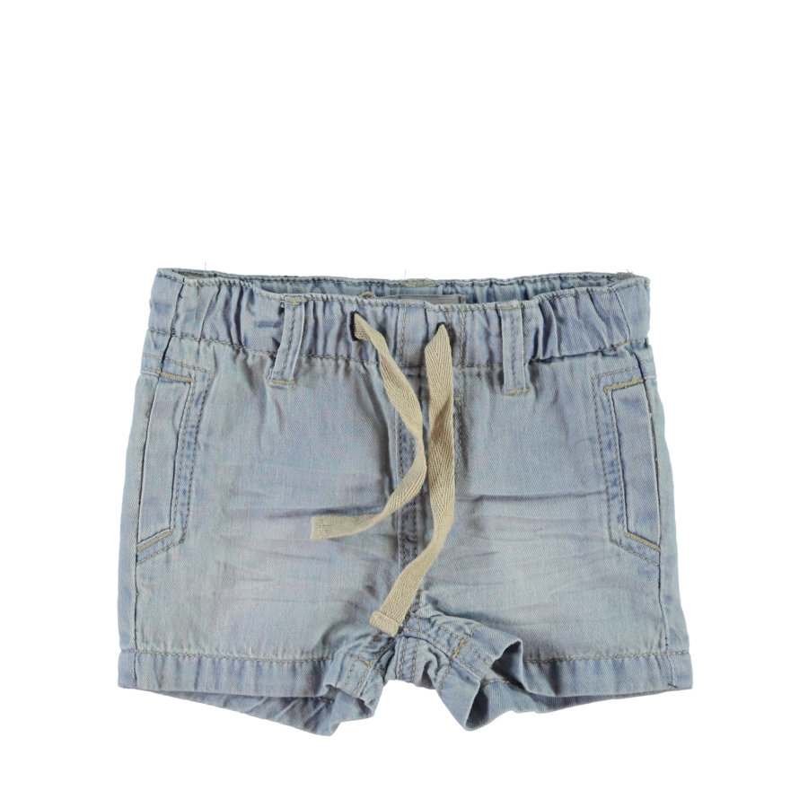 name it Boys Jeansshorts Nittisho light blue denim