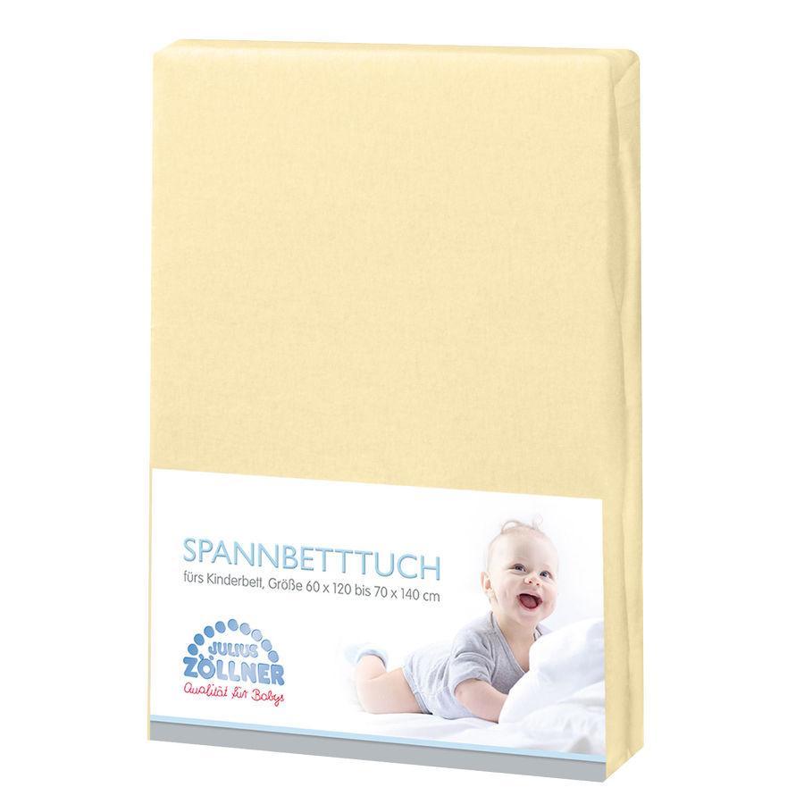 JULIUS ZÖLLNER Spannbetttuch Frottee vanille