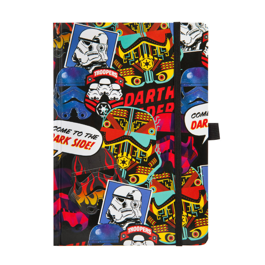 UNDERCOVER Quaderno appunti A5 - Star Wars Patch