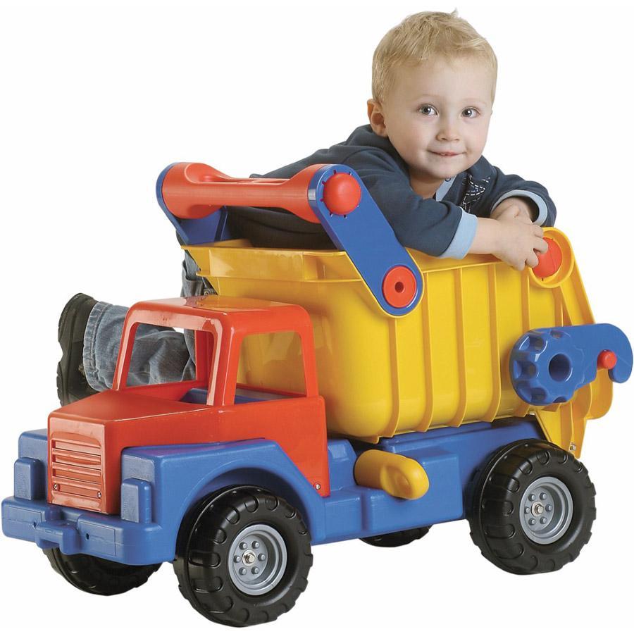 WADER Camión con volquete de juguete No. 1