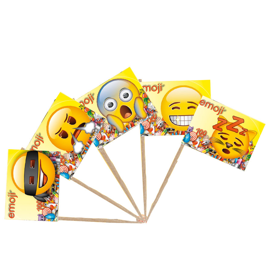 HAPPY PEOPLE Koristeliput emoji®