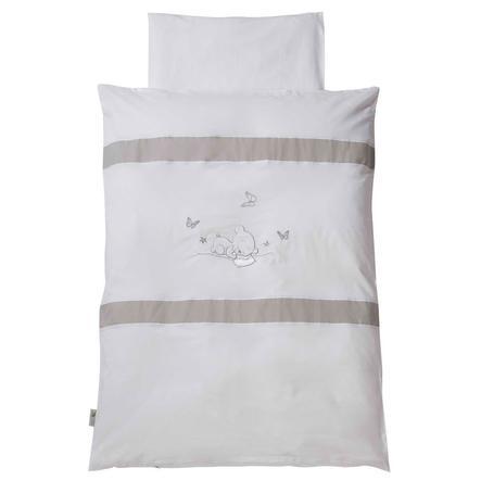 Easy Baby Parure de lit Dreambear, 100 x 135 cm, blanc