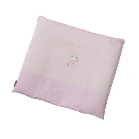 Easy Baby Aankleedkussen stof 85/75 Stars & Friends roze