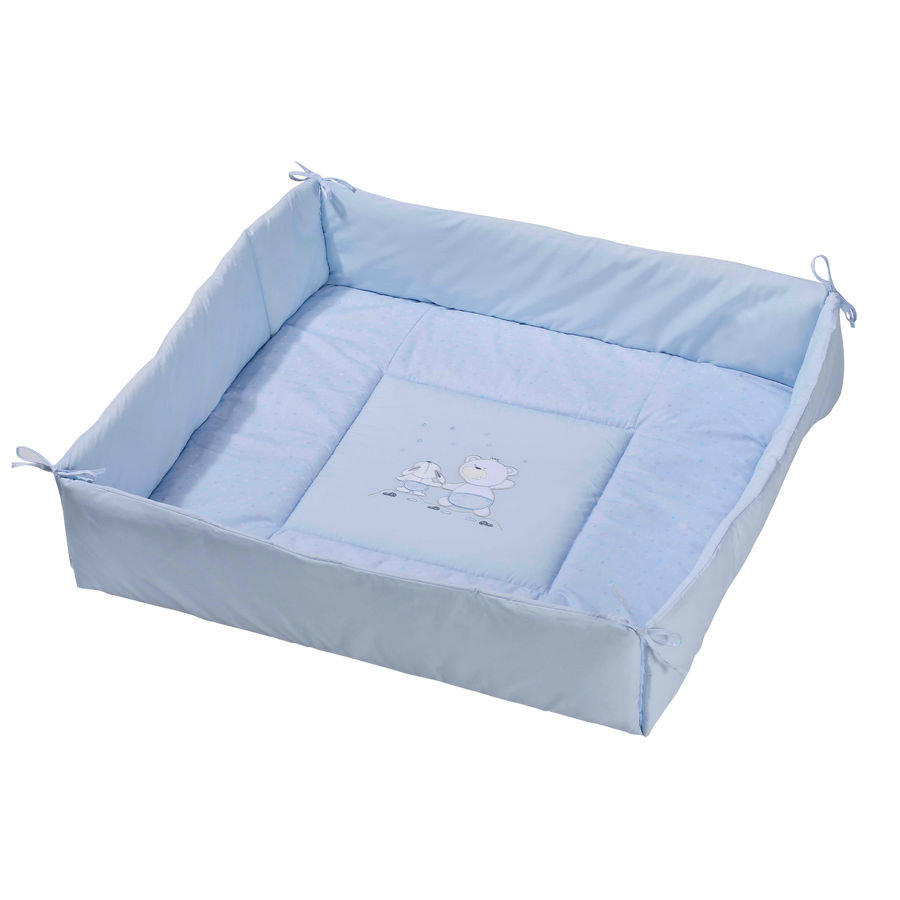 Easy Baby Box Bekleding Stars & Friends blue