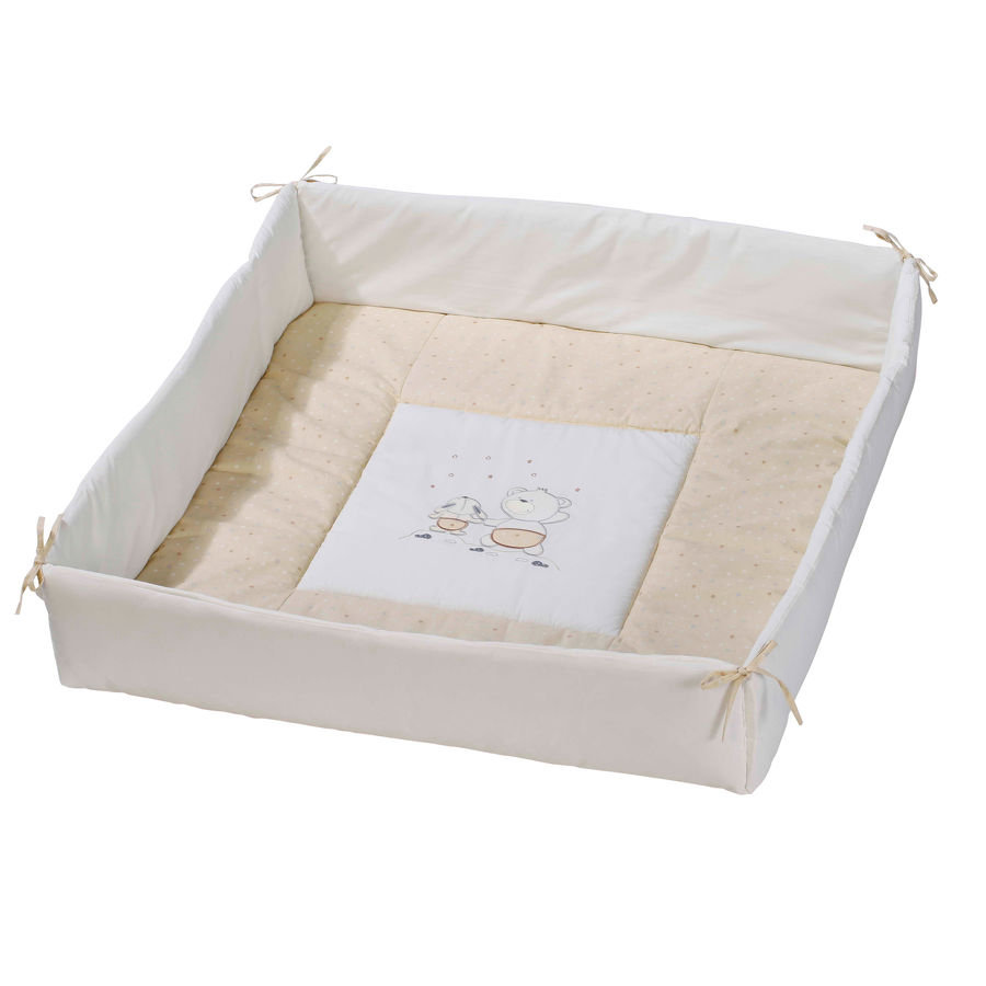 Easy Baby Box Bekleding Stars & Friends ecru