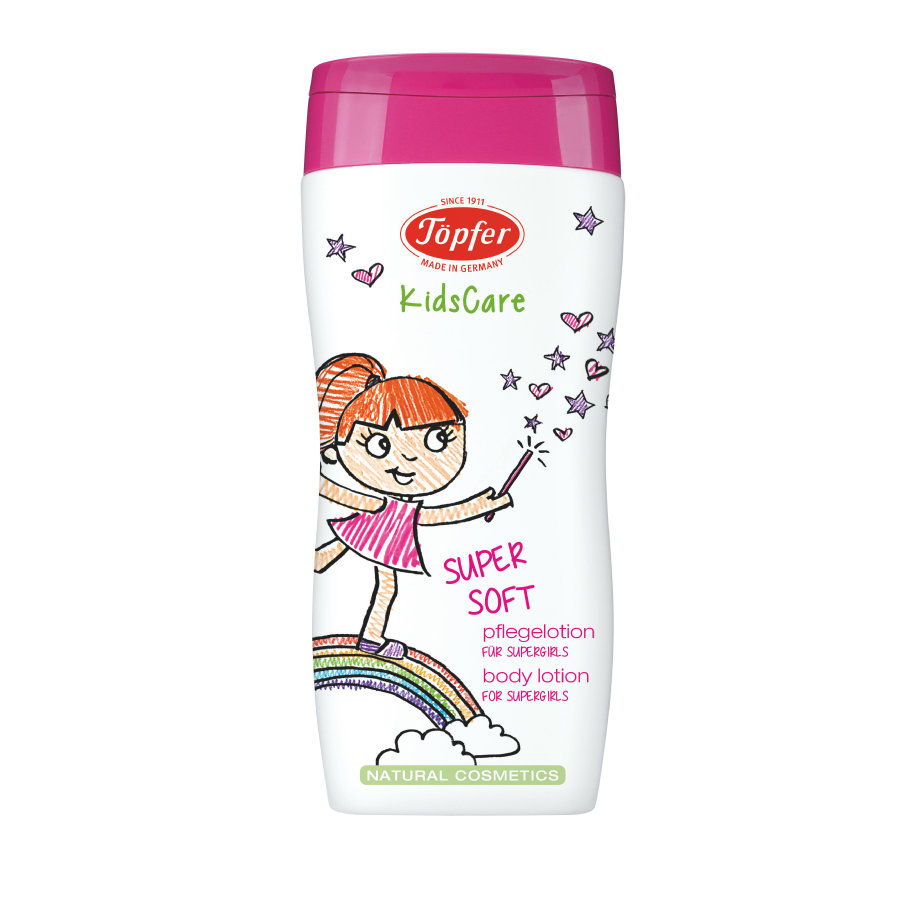 TÖPFER KidsCare Pflegelotion Supersoft für Supergirls 200ml