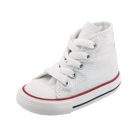 CONVERSE Mini Tenisówki Chucks ALL STAR high optical white