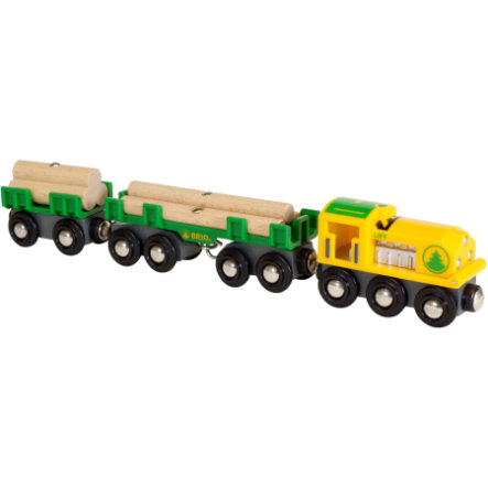 BRIO® WORLD Holz-Transportzug 33775