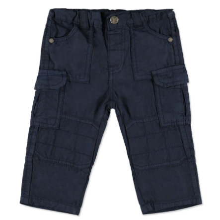 PEBBLE STONE Boys Mini Chinohose black iris
