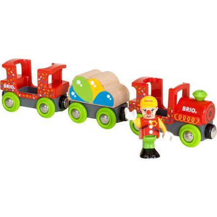BRIO Treno dei Clown colorato 33756