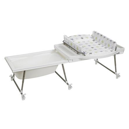 GEUTHER Combi Table à langer / Bain Aqualino, Étoiles 032