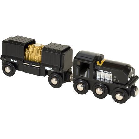 BRIO Czarny pociąg ze złotem Limitowana edycja 2016 33839