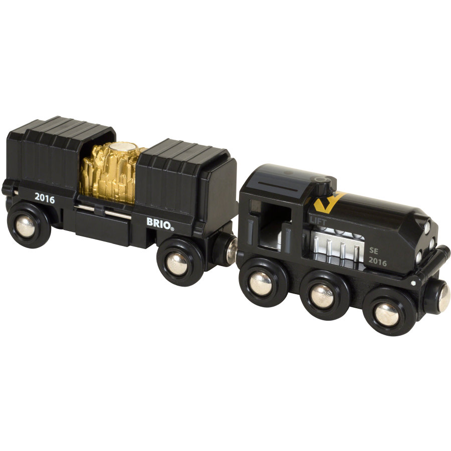 BRIO Űerný vlak se zlatem Ltd. Edition 2016 33839