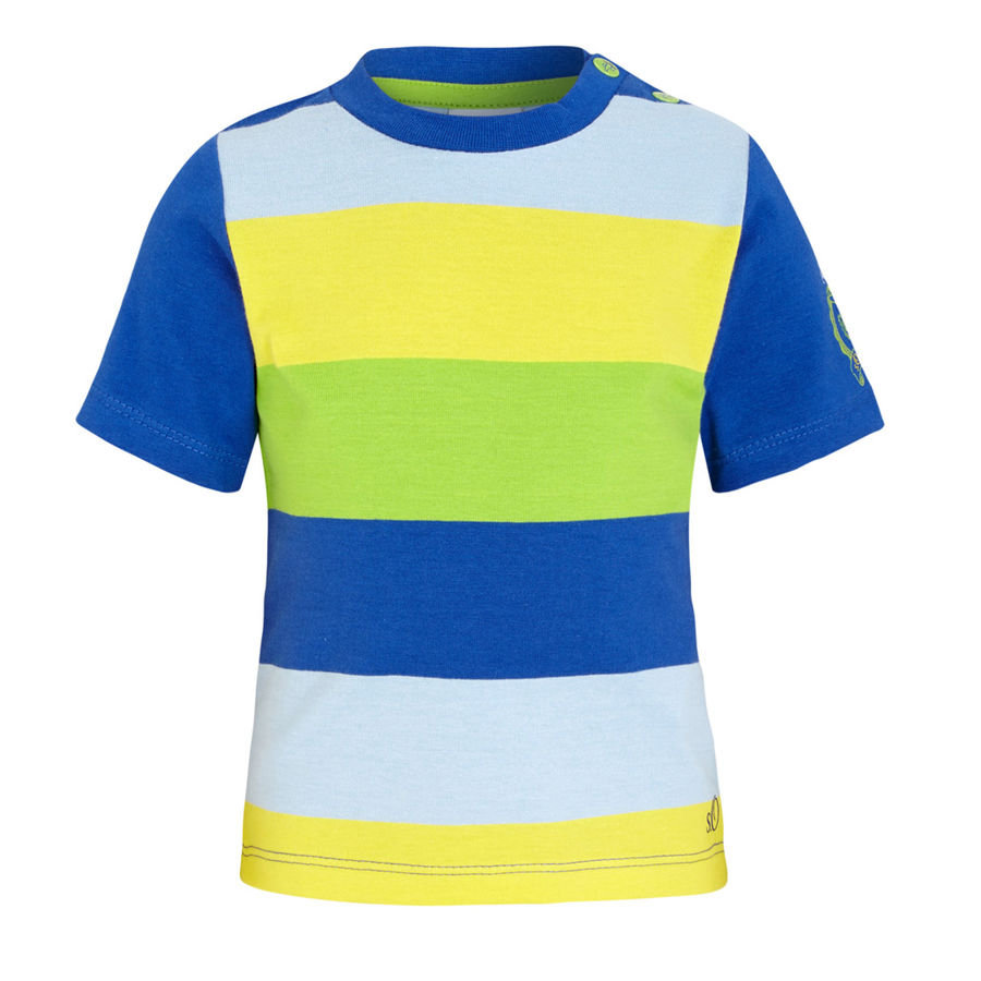 s.OLIVER Boys Mini T-Shirt blue stripes