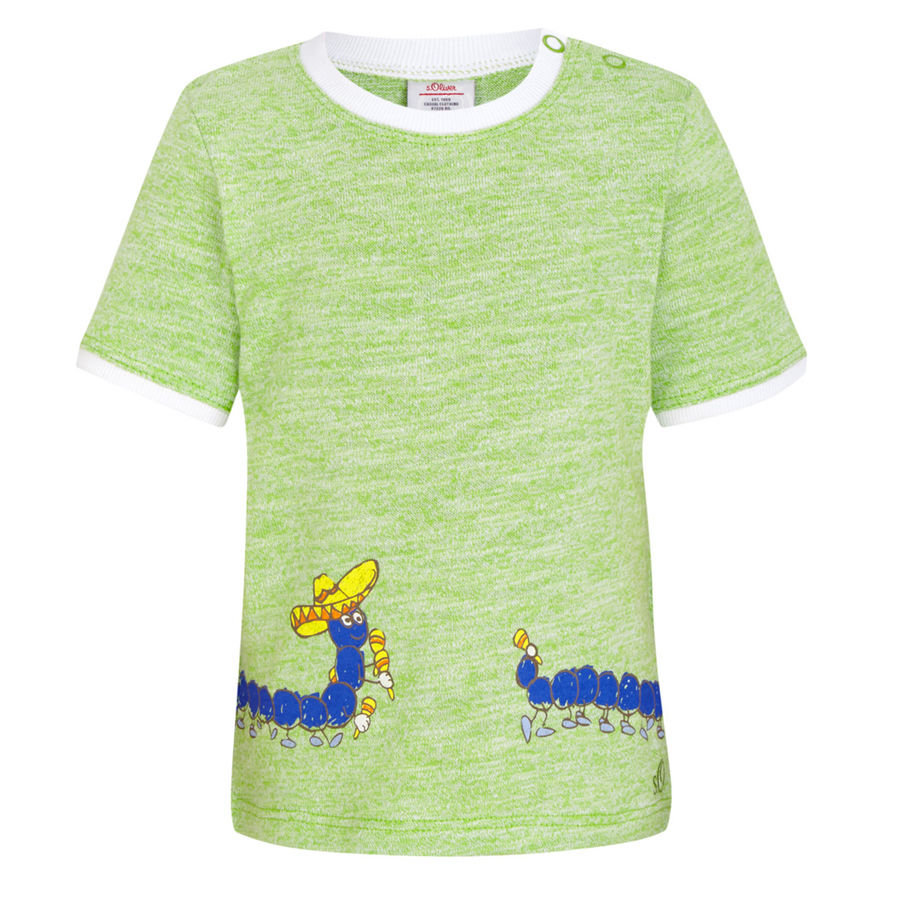 s.OLIVER Boys Mini T-Shirt green-melange