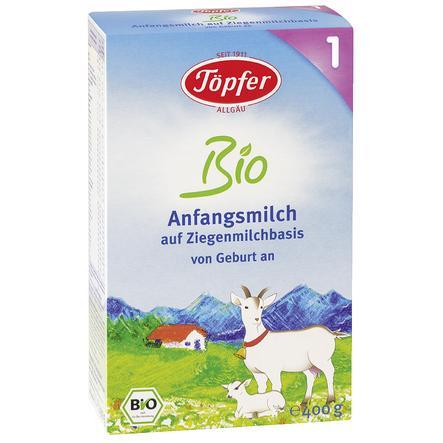 Töpfer Anfangsmilch 1 Bio auf Ziegenmilchbasis 400 g