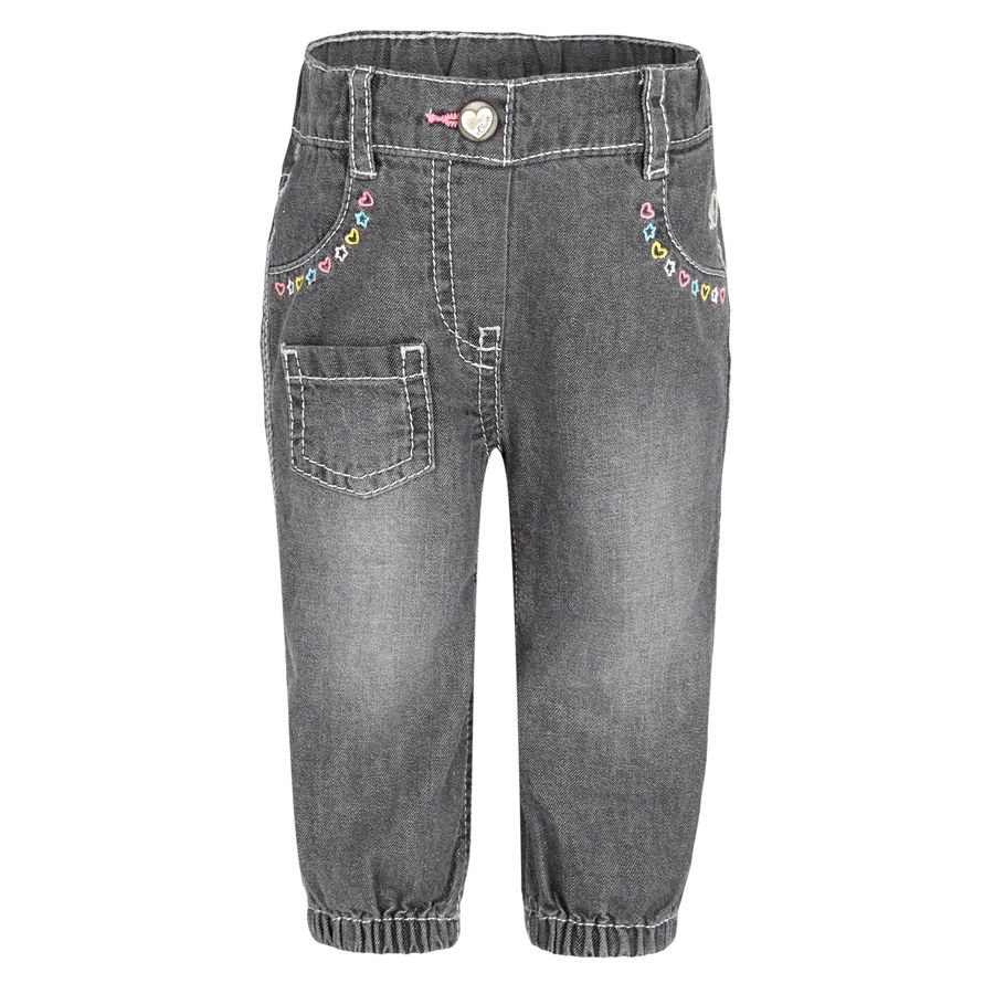 s.OLIVER Girls Mini Pantalon, denim gris