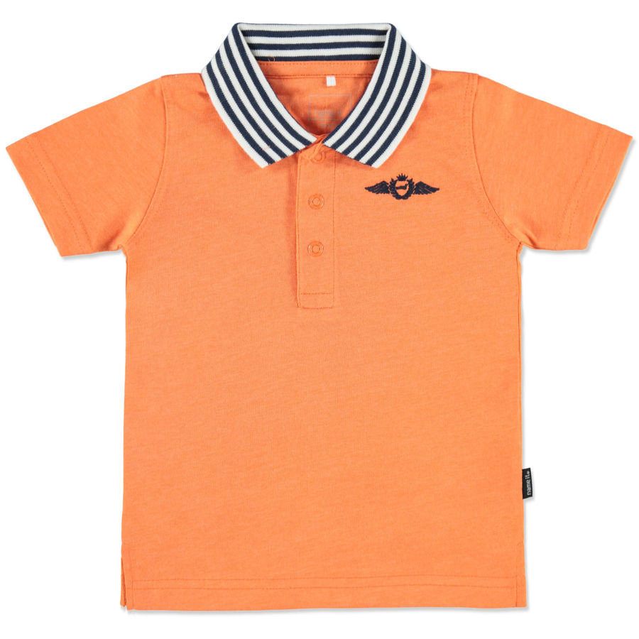NAME IT Boys Mini T-shirt polo VITAS, rose corail