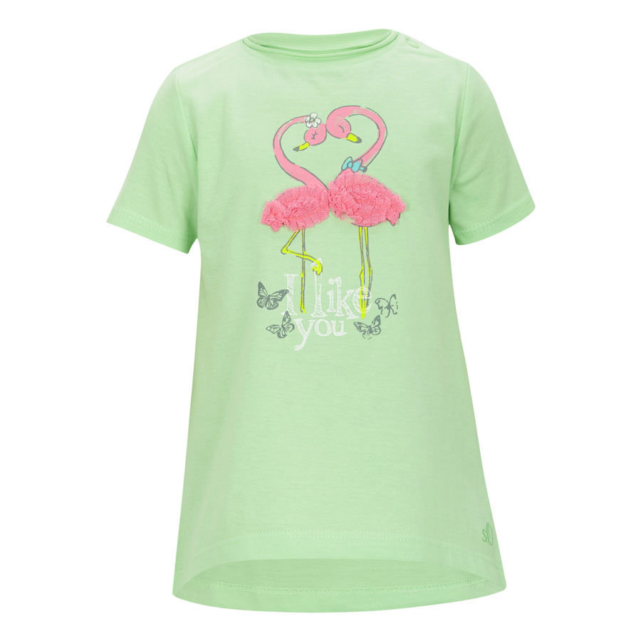 s.OLIVER Girls Mini T-Shirt green