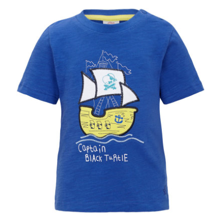 s.OLIVER Boys Mini T-shirt, bleu