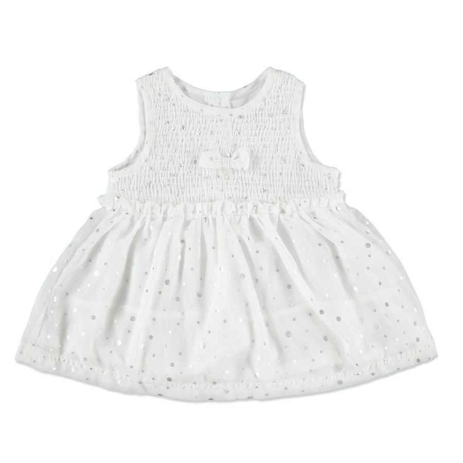 KANZ Girls Mini Sukienka snow white