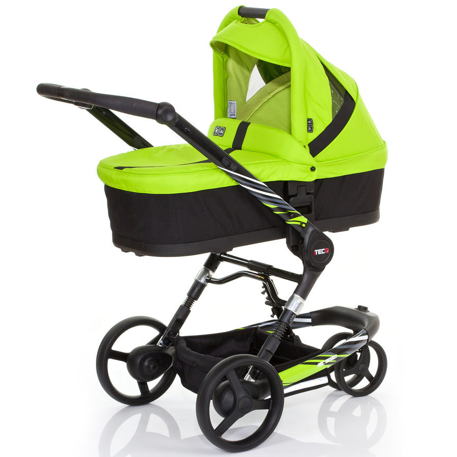 ABC DESIGN Kombikinderwagen 3 Tec plus LIME