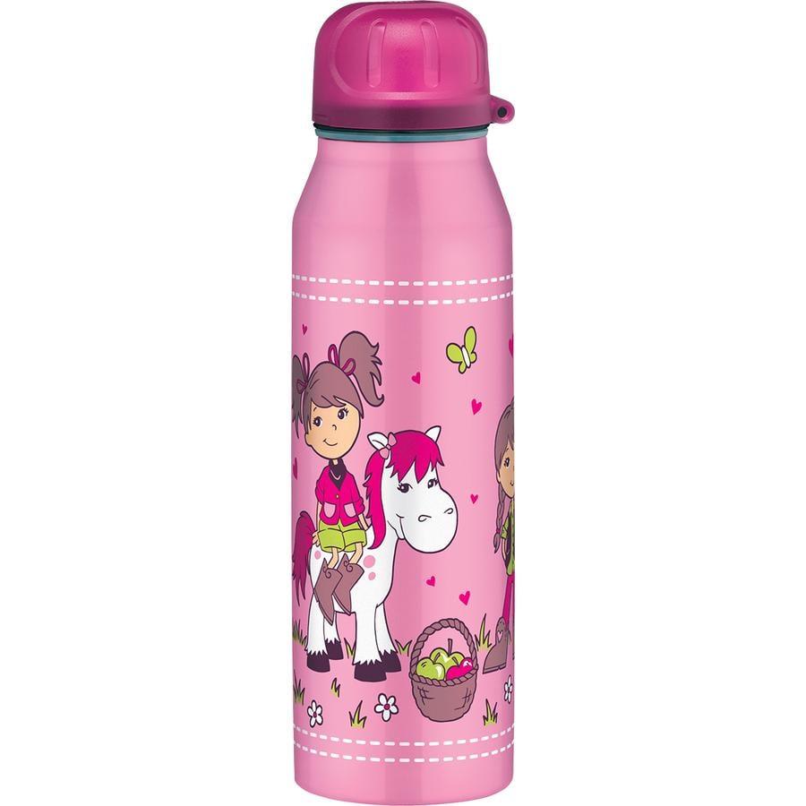 alfi Trinkflasche isoBottle aus Edelstahl 0,5l, Design: Pony Farm