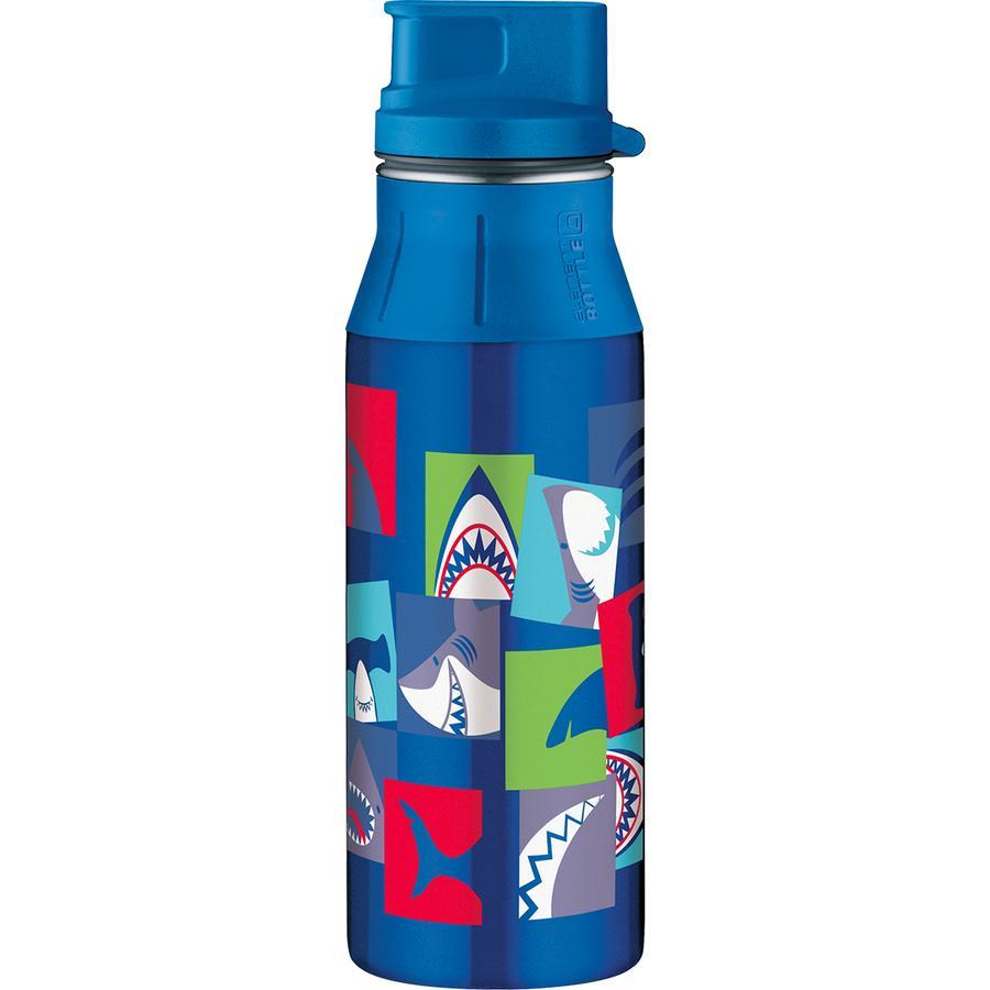 alfi elementBottle mit Trinkverschluß 0,6 l, Design: Hai