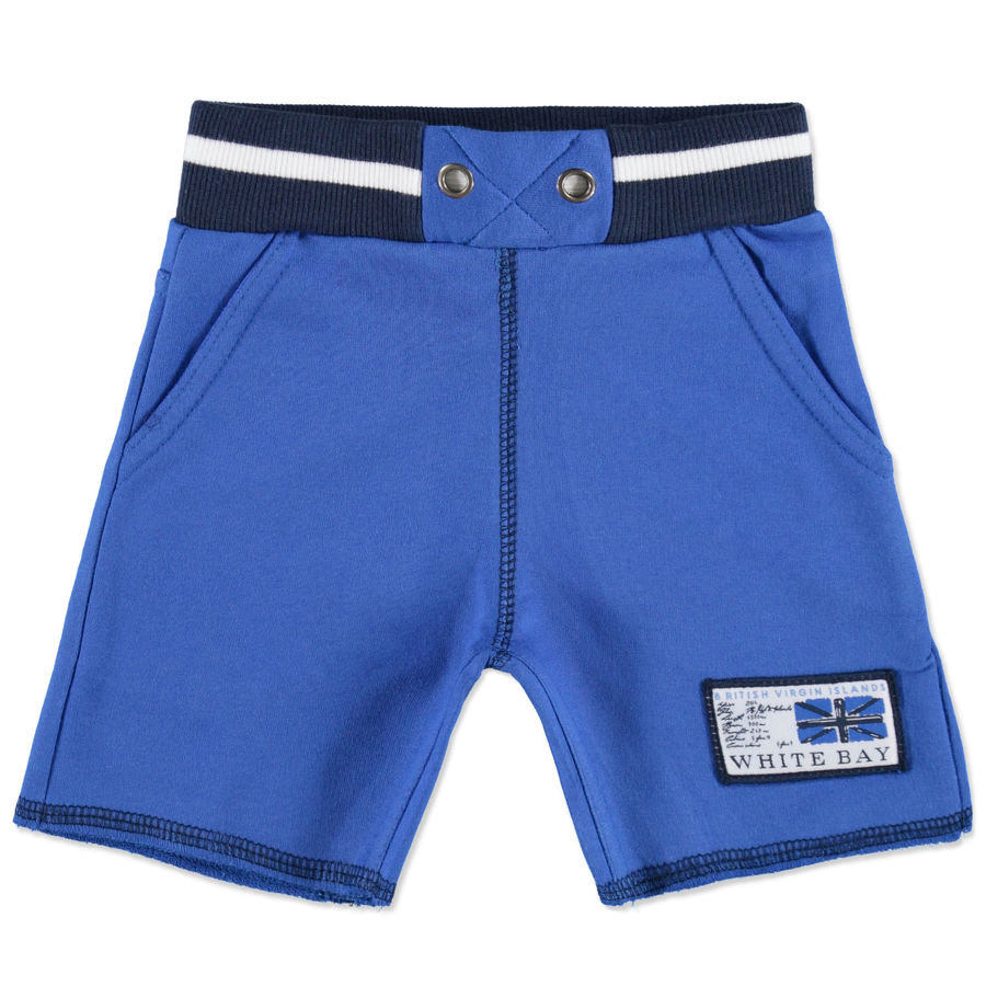 DIRKJE Boys Mini Sweatbermuda cobalt blue/navy