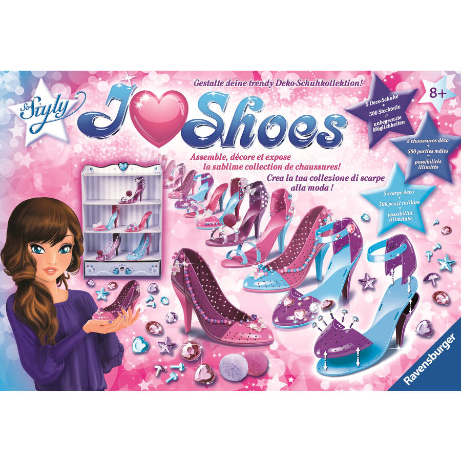 RAVENSBURGER love Shoes Maxi Princess