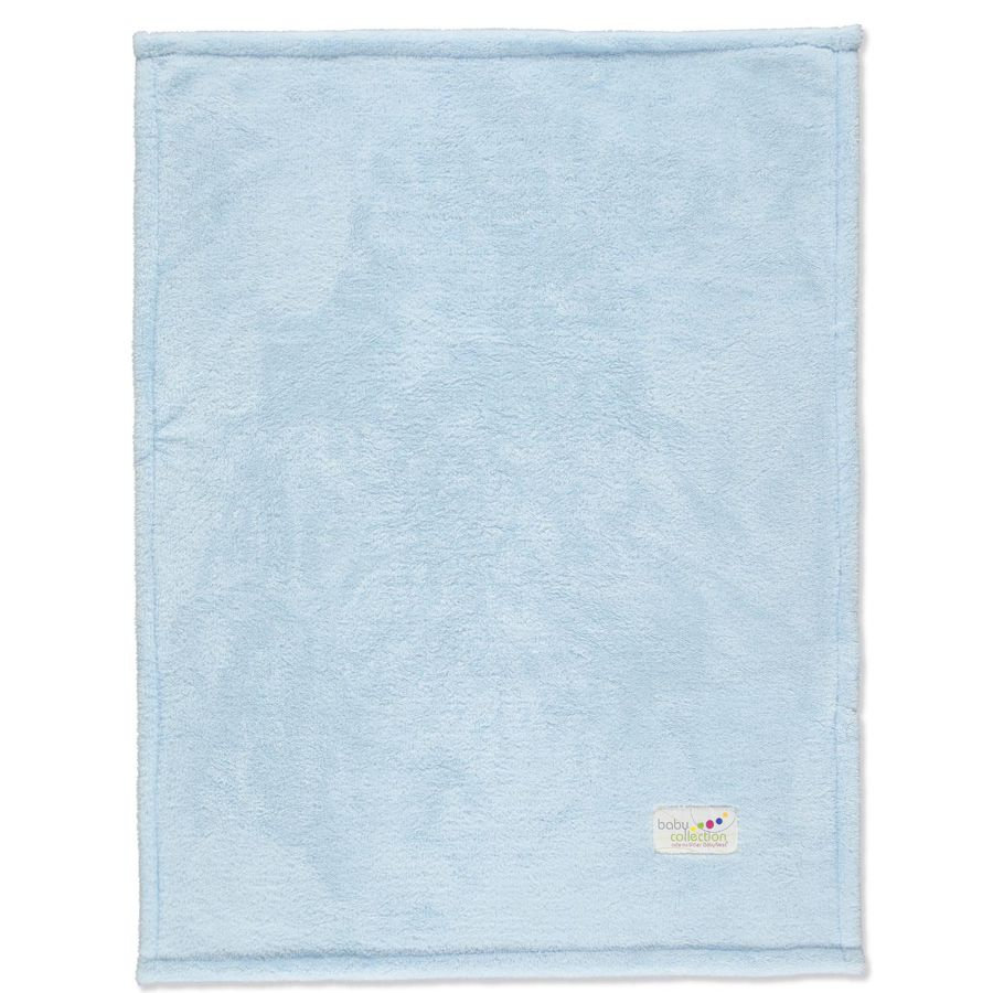 ODENWÄLDER Couverture multifonction Microteddy, bleu clair