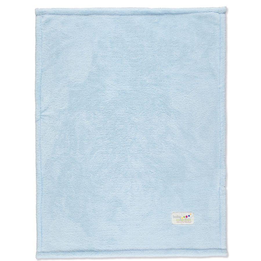 ODENWÄLDER Deka Microteddy - světle modrá