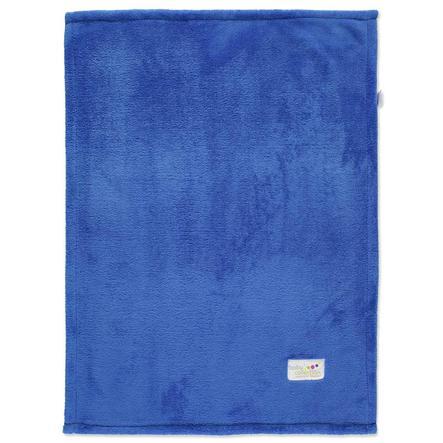 ODENWÄLDER Deken Microteddy blauw
